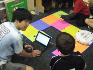 Teaching with Robots