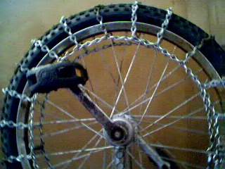 Ben S Unicycle Snow Chains